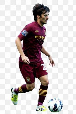 Football - David Silva Football Team Sport Rendering Manchester City F.C. PNG