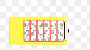 BINGO BALLS - Rectangle Font PNG