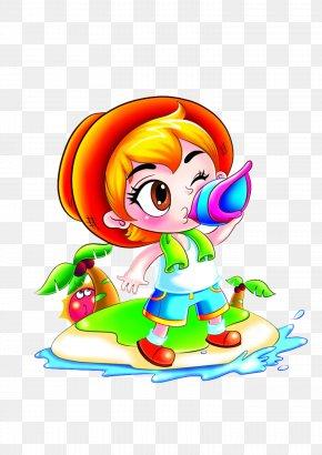 Kids Drink - Child Cartoon Clip Art PNG
