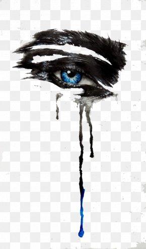 Eye Care - Eye Tears Drawing Ink PNG