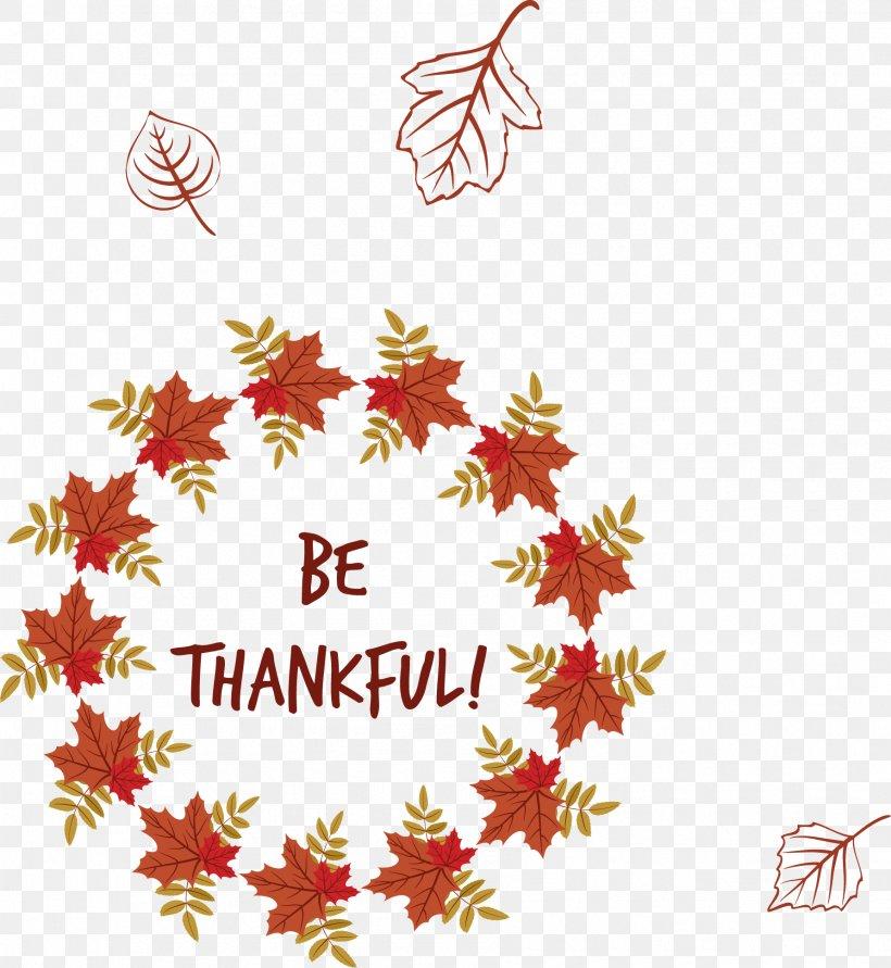 Text Leaf Clip Art, PNG, 1783x1939px, Thanksgiving, Autumn, Autumn Leaf Color, Border, Clip Art Download Free
