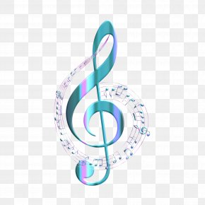Free From Music - Treble Clef Musical Note Drawing PNG