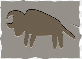 Free To Pull The Material Rhino Image - Cattle Canidae Dog Illustration PNG