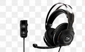 Headphones - Kingston HyperX Cloud Revolver Headphones Kingston HyperX Cloud Alpha Kingston Technology PNG