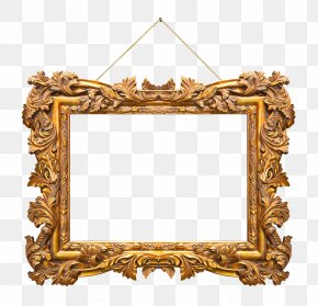 Gold Frame - Photography Picture Frame Royalty-free PNG