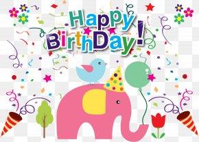 Vector Birthday - Birthday Cake Greeting Card Wish Wedding Invitation PNG