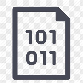 Binary Data Icon - Binary File Binary Number Source Code Android Application Package PNG