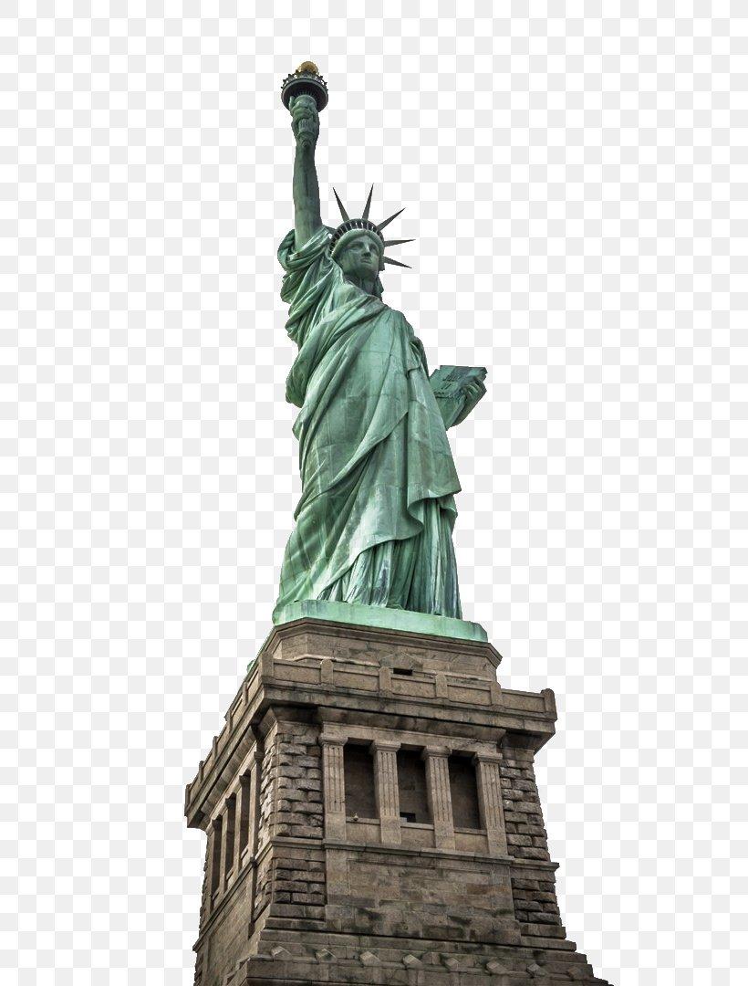 Statue Of Liberty Empire State Building One World Trade Center New York Harbor Ellis Island, PNG, 720x1080px, Statue Of Liberty, Artwork, Building, Classical Sculpture, Ellis Island Download Free