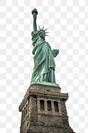 New York Statue Of Liberty HD Pictures - Statue Of Liberty Empire State Building One World Trade Center New York Harbor Ellis Island PNG