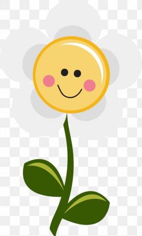 Flower Illustration - Smiley Flower Common Daisy Clip Art PNG