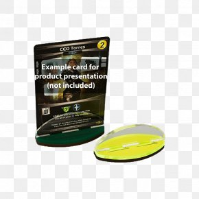 Card Green - Board Game Playing Card Yellow White PNG