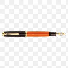 Fountain Pen - Fountain Pen Office Supplies Pelikan Ballpoint Pen PNG