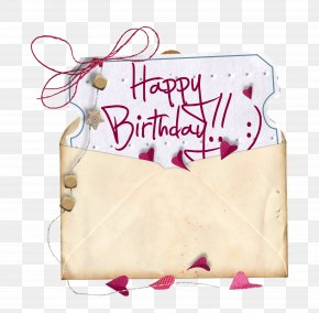 Happy Birthday Envelopes - Paper Happy Birthday To You Greeting Card Anniversary PNG