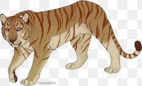 Tiger - Tiger Lion Cat Fauna Clip Art PNG