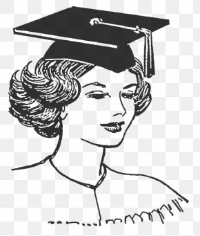 Student - Square Academic Cap Graduation Ceremony Academic Degree Student Drawing PNG