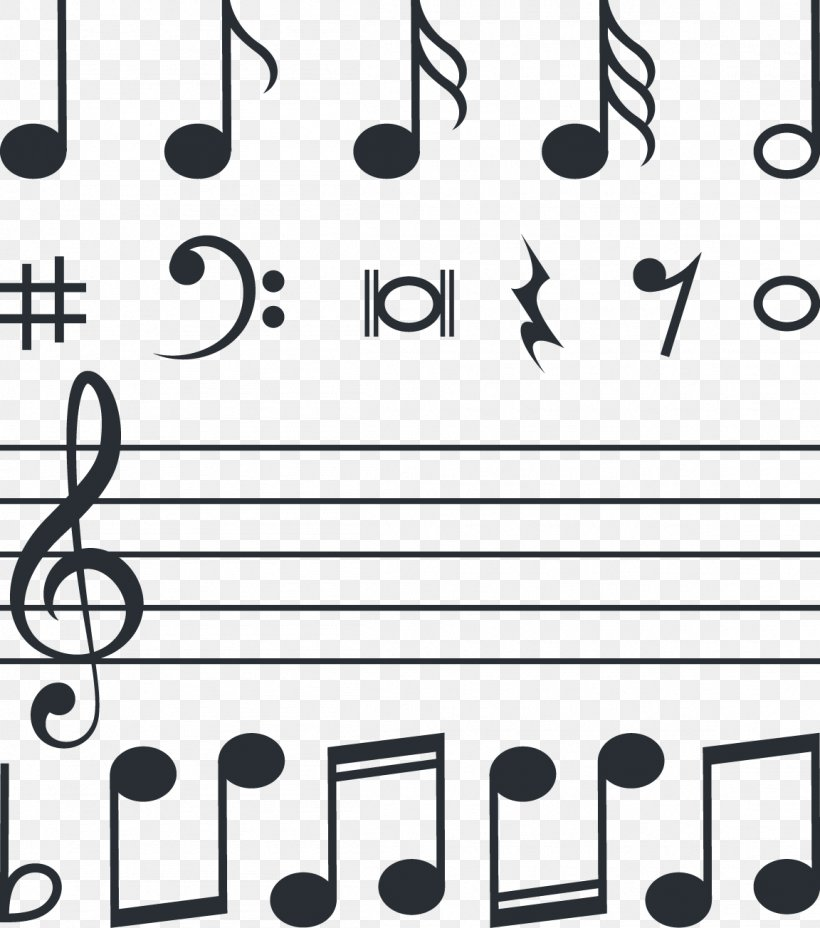 Musical Note Download Euclidean Vector Clef, PNG, 1152x1304px, Watercolor, Cartoon, Flower, Frame, Heart Download Free