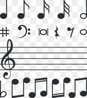 Musical Note - Musical Note Download Euclidean Vector Clef PNG