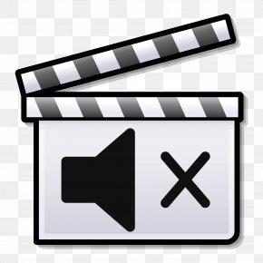 Silent Film Clapperboard Clip Art PNG