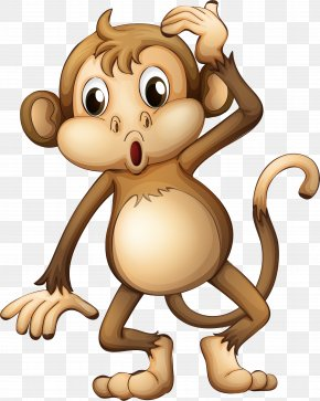 Cartoon Monkey - Monkey Clip Art PNG