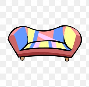 Igloo - Club Penguin Igloo Couch Clip Art PNG