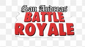 Grand Theft Auto: San Andreas Logo Video Game Battle Royale Game Brand PNG
