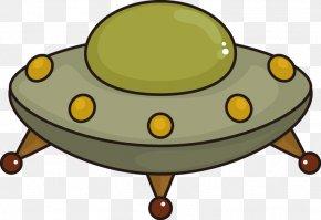 Cartoon UFO UFO - Unidentified Flying Object Flying Saucer Cartoon Clip Art PNG