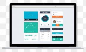 Software Mockup - User Interface Design Template Flat Design Psd PNG