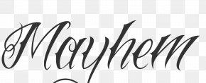 Script - Tattoo Script Typeface Cursive Logo Font PNG