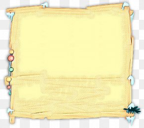 Beige Rectangle - Yellow Scroll Rectangle Beige PNG