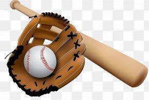 Baseball - Baseball Glove Baseball Bat Clip Art PNG