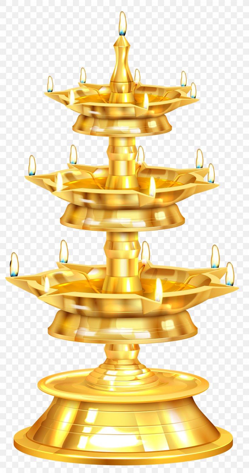 Diwali Clip Art, PNG, 3159x6000px, Diwali, Brass, Candle, Diya, Gold Download Free