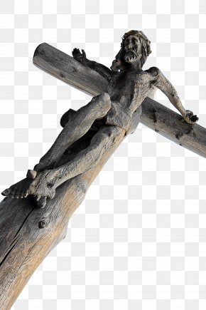 Cross Jesus Wood Carving Material - Bible Christian Cross Christianity Religion God PNG