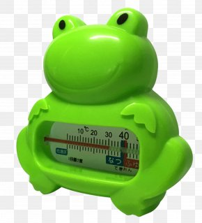 Frog Thermometer - Bathing Infant Transfer Bench Thermometer PNG