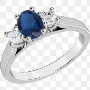 Sapphire Diamond Ring Settings - Engagement Ring Gemstone Ruby Diamond Cut PNG