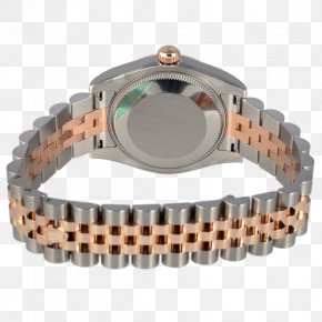 Rolex - Rolex Datejust Chronometer Watch Colored Gold COSC PNG
