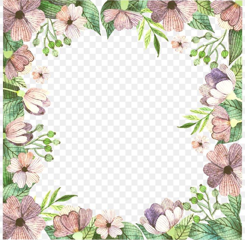 Floral Design Flower Pattern, PNG, 802x802px, Flower, Border, Color, Flora, Floral Design Download Free