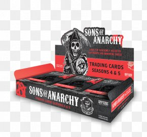 Season 4 DonrussSons Of Anarchy - Playing Card Collectable Trading Cards Cryptozoic Entertainment Sons Of Anarchy PNG