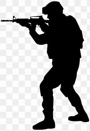 Soldier Silhouette Clip Art Image - Soldier Silhouette Clip Art PNG