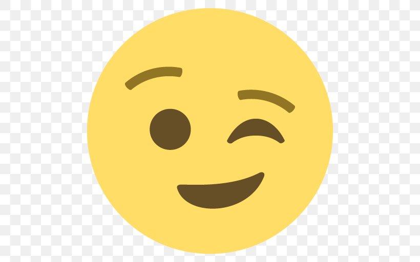 Wink Emoji Emoticon Smile WWT Washington, PNG, 512x512px, Wink, Book,  Customer Review, Email, Emoji Download Free
