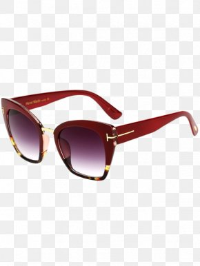 Gold Jewelry Industry Atmospheric Square Border - Goggles Sunglasses Designer Eyewear PNG