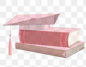 Pink Book Cap Cap Vector - Euclidean Vector Pink Hat PNG