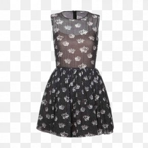 Ms. Slim Dress Crown Printing - Dress Polka Dot Versace PNG