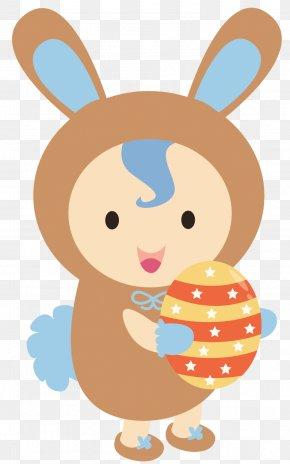 Easter Bunny - Easter Bunny Baby Bunnies Rabbit Clip Art PNG