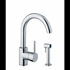Kitchen - Tap Kitchen Stainless Steel Metal Chrome Plating PNG