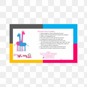 Colorful Fashion Gift Voucher - Gift Card Voucher Loyalty Program PNG