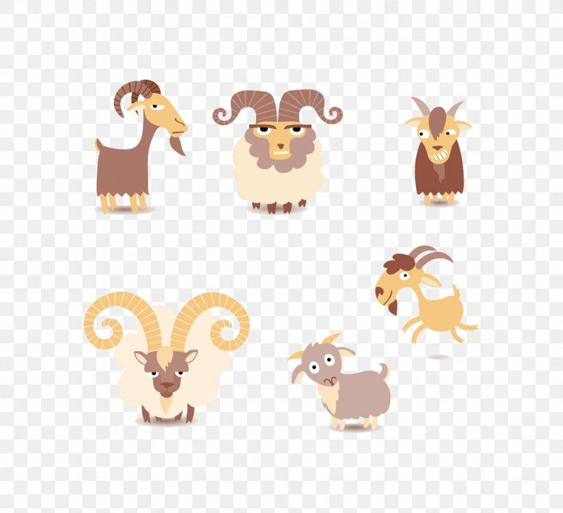 Goat Sheep Euclidean Vector Clip Art, PNG, 954x870px, Goat, Bird, Bird Of Prey, Cartoon, Drawing Download Free