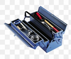 Blue Toolbox - Tool PNG