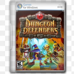 Dungeon Defenders - Pc Game Video Game Software Action Figure Games PNG