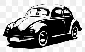 Volkswagen Type 14a Classic - Classic Car Background PNG