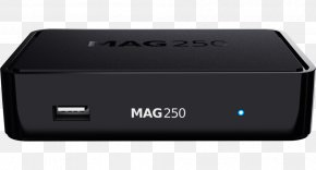 Set-top Box IPTV Over-the-top Media Services High-definition Television Infomir MAG254 PNG